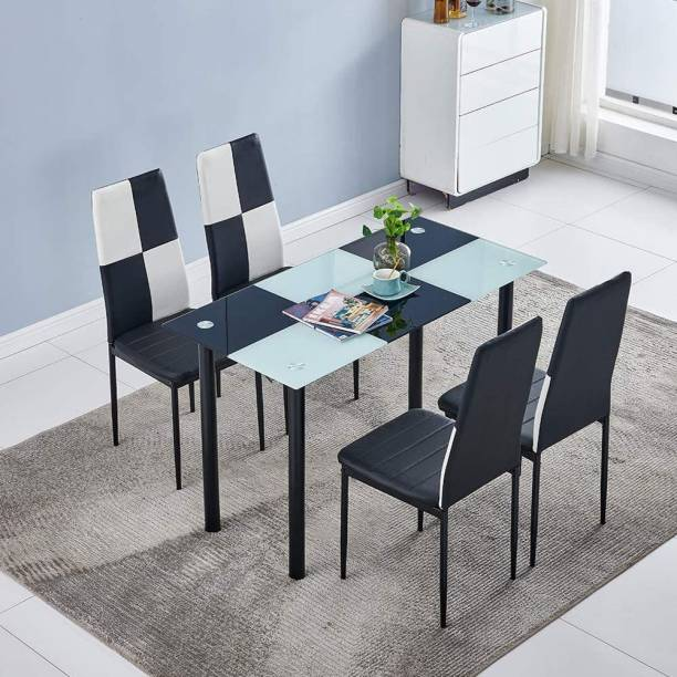 Tanveer Furniture Metal 4 Seater Dining Set