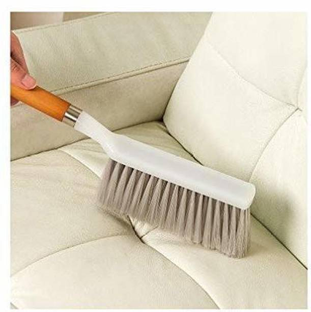 ShoppoWorld Premium Quality Multipurpose Cleaning Brush with Hard & Long Bristles for Car Seat Covers, Floor Mats & Other Households Wet and Dry Duster,Sofa, car, carpet cleaning brush with long hard bristles Wet and Dry Duster
