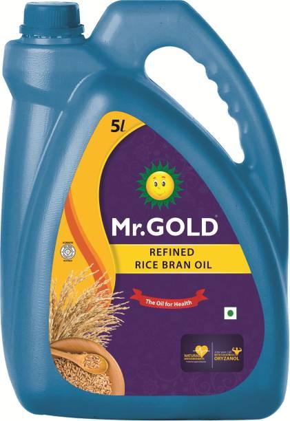 Mr.Gold RiceBran Rice Bran Oil Can