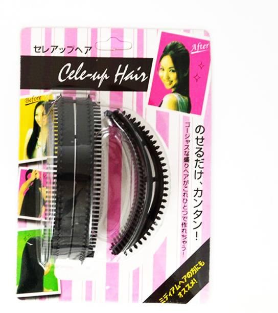 BELLA HARARO Hair Comb Bumpits Hair Styling Tools Bun Maker Bumpits-Beauty-Braider-Styling-Holder-2 Size(Pack Of 1) Head Band