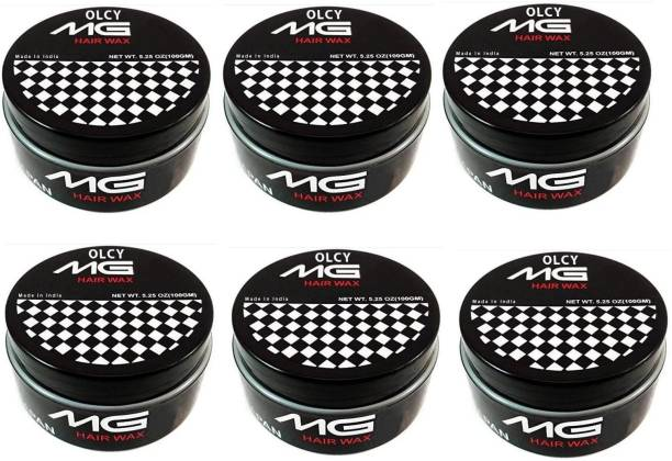 OLCY MG5 Hair Wax for Hair Styling - Pack of 6 Hair Wax (900 g) Hair Wax