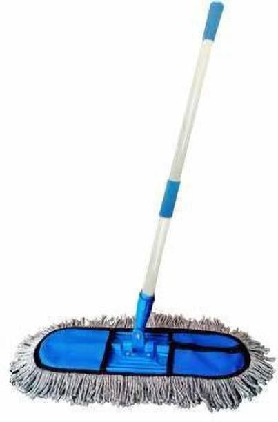 Runwet Diem_Cotton Wet and Dry Floor Mop | Plastic | Medium 18 Inch Wet & Dry Mop