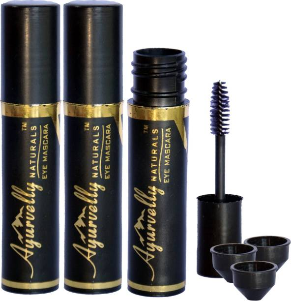 Ayurvelly Naturals Empty Plastic Mascara Tube for Eyelashes and Eyebrows 8 ml
