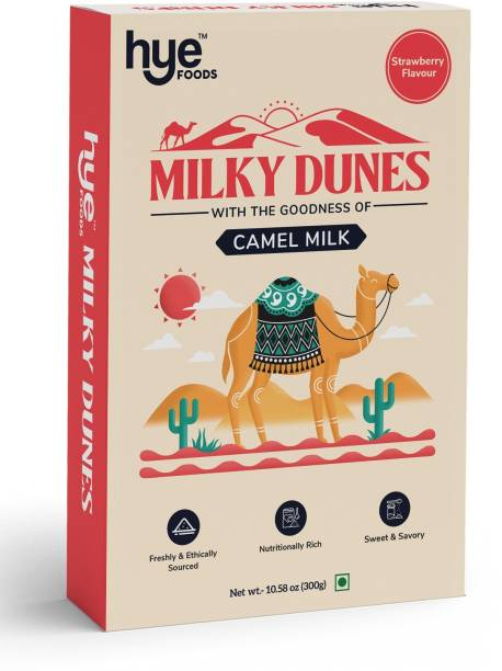 Hye foods Milky Dunes Strawberry Flavour Camel  Flavored Milk Powder