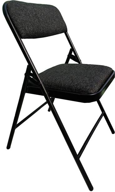 THE EMPORIUM HEALTH Folding Chair for Home/Study Chair and Restaurant Chair (Black) Metal Outdoor Chair