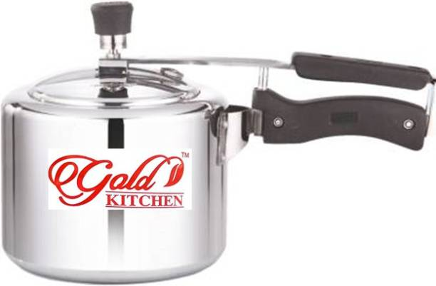Sundry Gold Kitchen Expert Quality Aluminium Pressure Cooker (3 Litre) 3 L Pressure Cooker