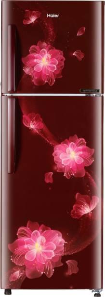 Haier 258 L Frost Free Double Door Top Mount 2 Star Convertible Refrigerator
