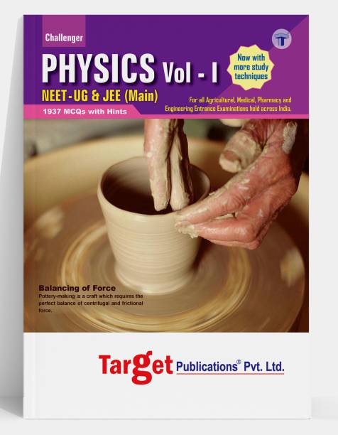 NEET UG / JEE Main Challenger Physics Book | Vol 1 | JEE / NEET 2021 Book For Medical And Engineering Exam | Chapterwise MCQs With Solutions | Physics Study Material With Previous Year Question Paper