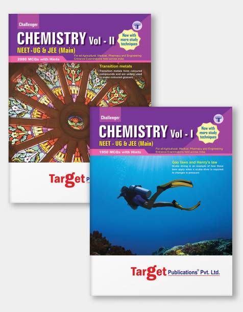 NEET UG / JEE Main Challenger Chemistry Books | Vol 1 And 2 | JEE / NEET 2021 Books For Medical And Engineering Exam | Chapterwise MCQs | Chemistry Study Material With Previous Year Question Paper