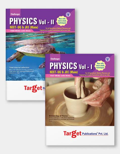 NEET UG / JEE Main Challenger Physics Books | Vol 1 And 2 | JEE/NEET 2021 Books For Medical And Engineering Exam | Chapterwise MCQs | Physics Study Material With Previous Year Question Paper | 2 Books
