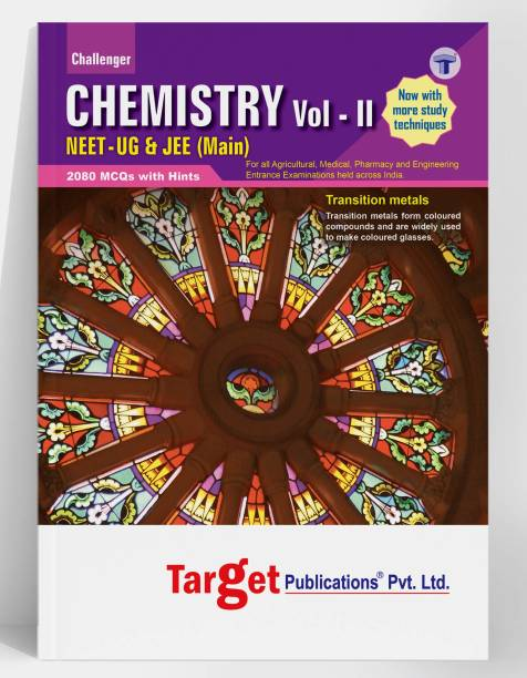 NEET UG / JEE Main Challenger Chemistry Book | Vol 2 | JEE/NEET 2021 Book For Medical And Engineering Exam | Chapterwise MCQ With Solutions | Chemistry Study Material With Previous Year Question Paper