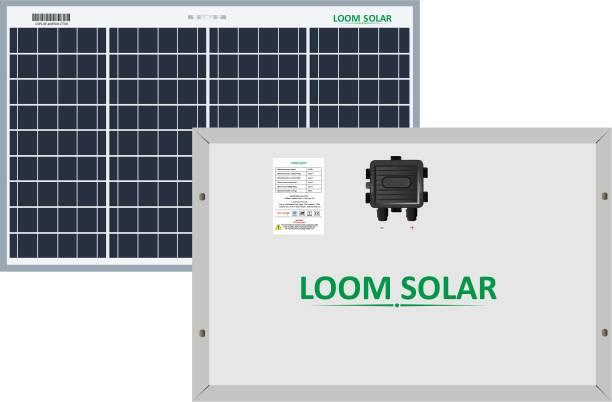 LOOM SOLAR 40 Watt 12 Volt Solar Panel