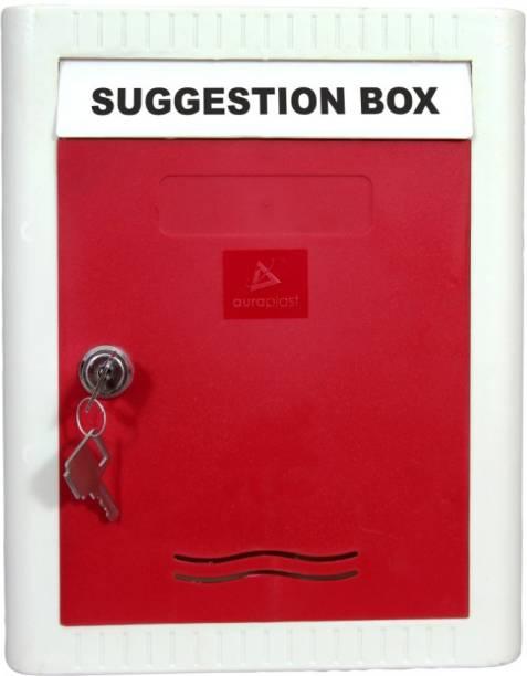 AURA PLAST Key lock Wall Mounted Suggestion Box Suggestion Box