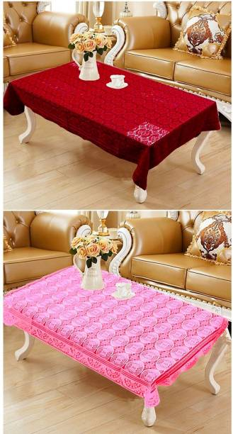 WONDERLAND Embroidered 4 Seater Table Cover