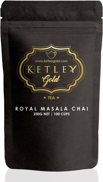 Ketley Gold Royal Masala Chai Unflavoured Masala Tea Pouch