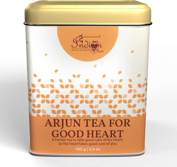 The Indian Chai Arjun Tea for Good Heart Unflavoured Herbal Tea Box