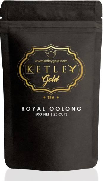 Ketley Gold Royal Darjeeling Unflavoured Oolong Tea Pouch