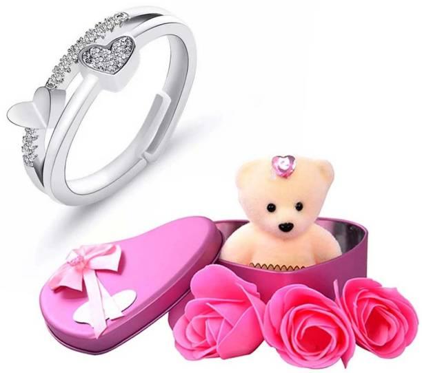University Trendz Jewelry, Artificial Flower, Soft Toy Gift Set