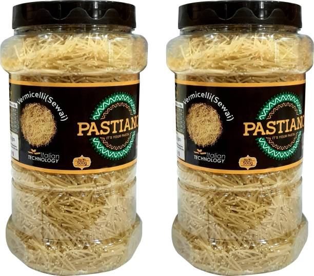 PASTIANO  (Sewai)- Pack of 2- 500 gms each Vermicelli 1 kg