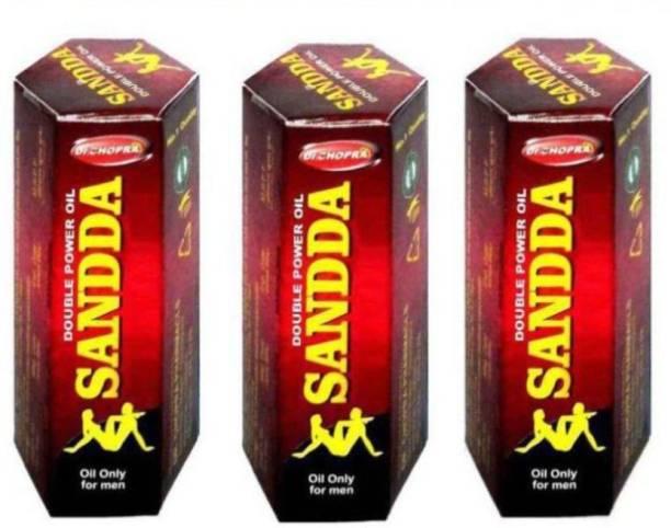 DR. CHOPRA PHARMACLS Sandda oil 15 ML (Pack of 3)