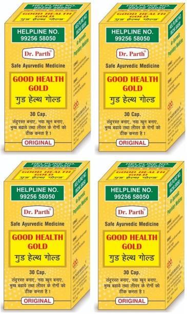 dr. parth biotech Good Health Gold Safe Ayurvedic Medicine ( Pack Of 4 )