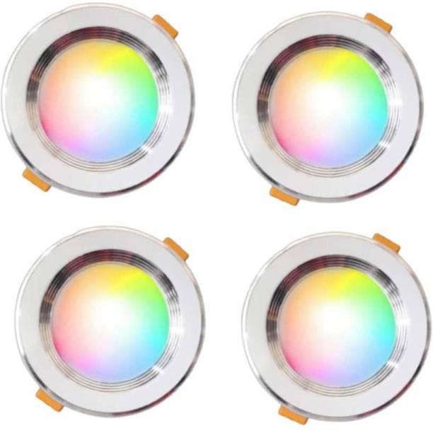 M.V.L 9 W Round Plug & Play LED Bulb