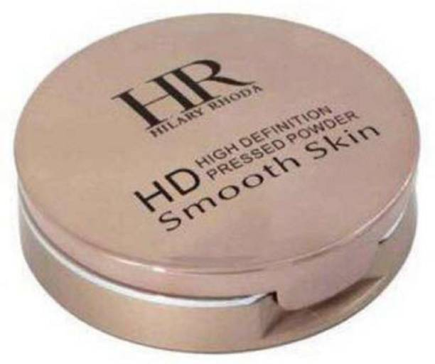 Hilary Rhoda HD High Definition Pressed Powder For Smooth Skin Compact -Beige  Compact