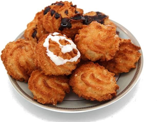 Biskutwala Old Delhi's Famous Narjeel Buns Soft Coconut Biscuits Macaroon Cookies Cookies