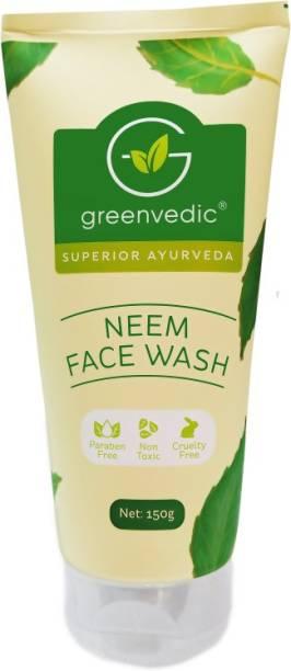GreenVedic Neem face wash ( Paraben And SLS Free) Face Wash