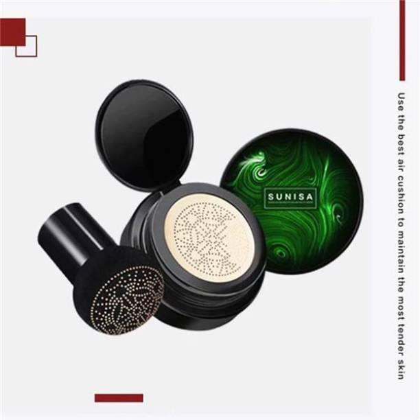 Bingeable Sunisa Beauty Air Cushion Mushroom BB & CC Long Lasting Creamy Liquid  Foundation