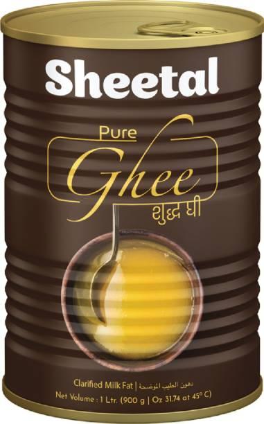 SHEETAL FOODS Sheetal Pure Ghee 1 L Tin
