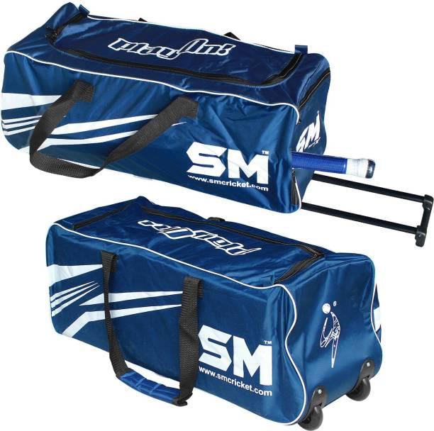 SM DRIVE - X Cricket Kit Bag / Hockey / Football / Travel / Trolley   Wheels