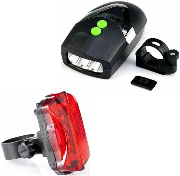 FASTPED Headlight with Horn and Back Light, LED Front Rear Light Combo