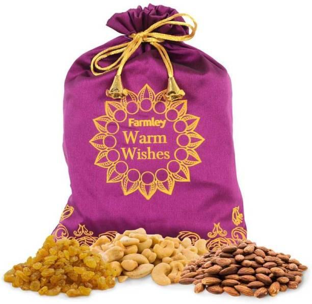Farmley Healthy Delight Potli 600g Assorted Nuts
