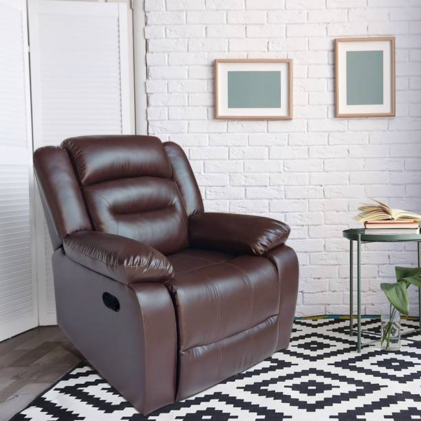 ARRA Leatherette Manual Recliner