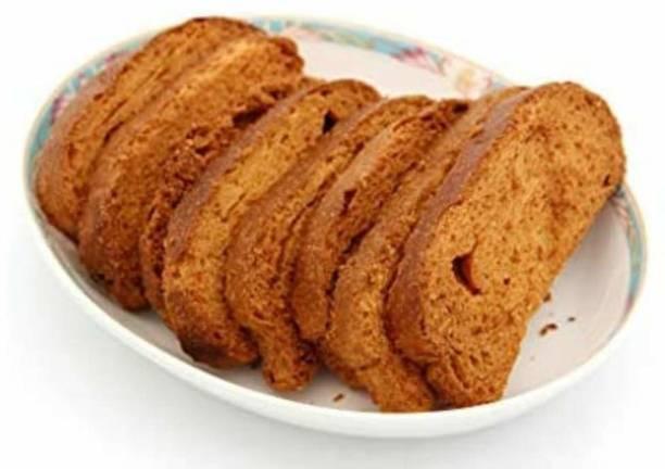 Biskutwala Old Delhi's Famous Fresh Tasty Traditional Rusks NA flavored Sooji Rusk