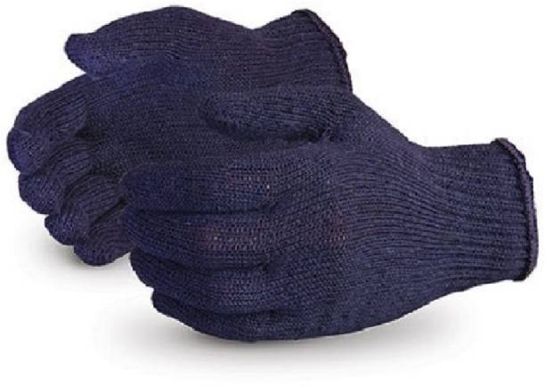 RBGIIT RBJS Women Eczema, Cloth Gloves for Dry Hands, Serving, Handling Film, Marching, Archival, Coin Collecting Safety Work Gloves Heavyweight for Men & Women Warehouse,Light industry,Carton handling, Construction L348 Kevlar  Safety Gloves
