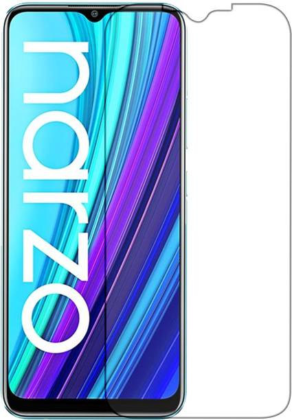 Knotyy Tempered Glass Guard for Realme Narzo 30A
