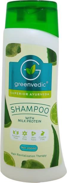 GreenVedic Milk Protein Shampoo ( paraben And SLS free)