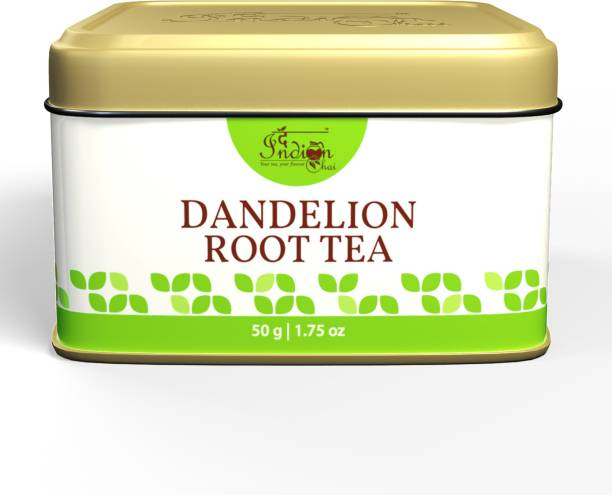 The Indian Chai Dandelion Detox Tea for Cleansing Liver, Supports Kidney Function and Digestive Health Herbal Tea Pouch