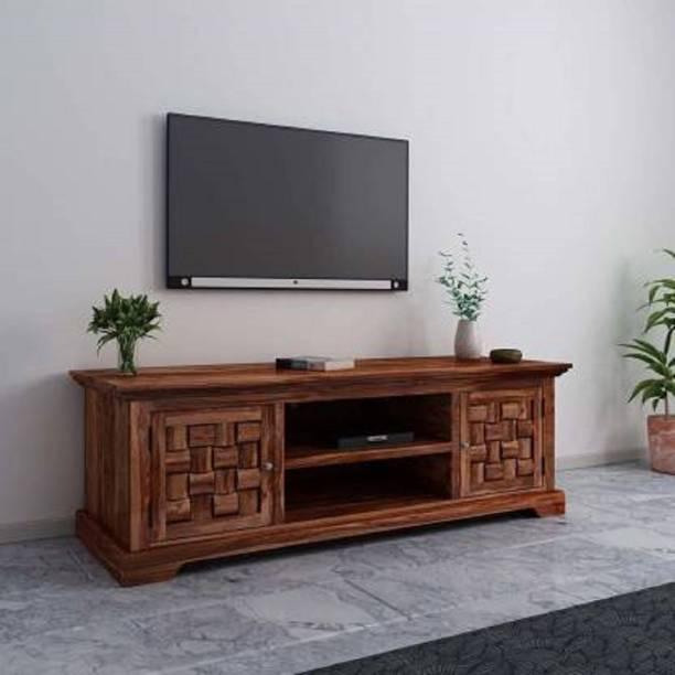 Worldwood Solid Wood TV Entertainment Unit