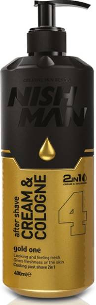 Nishman After Shave Cream & Cologne Gold One 4