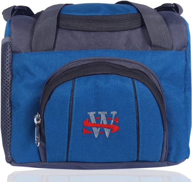 wedli Lunch Tiffin Bag Multicolour for School Office Picnic Waterproof Lunch Bag (Multicolour 5 L) Waterproof Lunch Bag