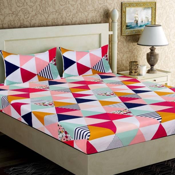 JEBY 310 TC Cotton King Printed Bedsheet