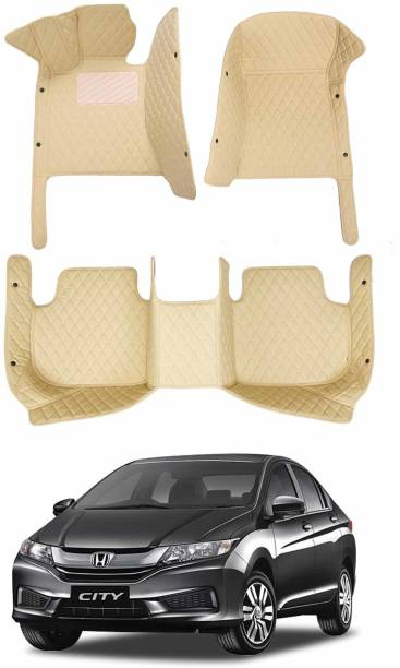 GoMechanic Leatherite 7D Mat For  Honda City