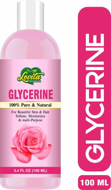 Lovita Organics Pure Glycerin for Beauty and Face, Hair & Skin Care