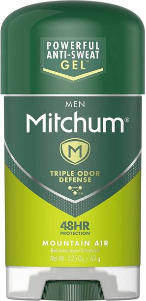 MITCHUM Clear Gel Antiperspirant and Deodorant Mountain Air Scent Deodorant Stick  -  For Men