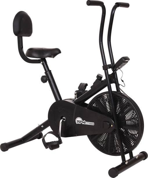 RPM Fitness RPM1001 Airbike with Back Seat Upright Stationary Exercise Bike