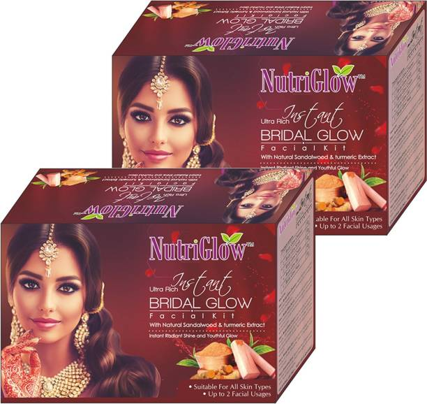 NutriGlow Ultra Rich Instant Bridal Glow Facial Kit Pack of 2