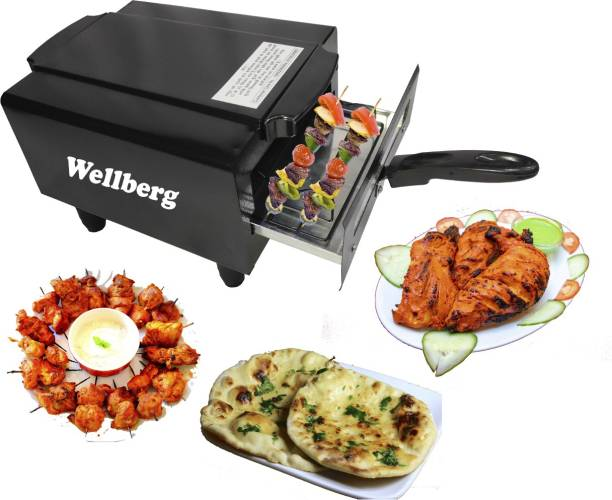 WELLBERG Electric Tandoor Modle No - WBET69 Grill Special With Kitchen Ware Accessories Electric Tandoor Electric Tandoor